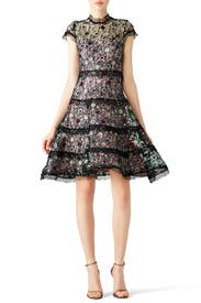 Peony Sequin Garden Dress by Alexis for 85 115 Rent the Runway