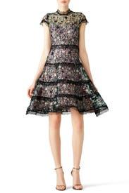Peony Sequin Garden Dress by Alexis for 85 115 Rent the Runway