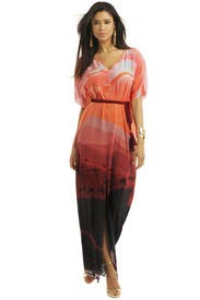 Apricot Desert Kaftan by Matthew Williamson
