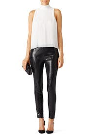 Black Sequin Leggings by BB Dakota