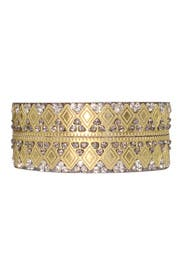 Alhambra Bangle by Chamak by Priya Kakkar