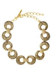 Lock and Key Necklace by Oscar de la Renta