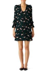 Scribble Printed Dress by Derek Lam 10 Crosby