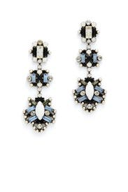Karlotta Crystal Statement Earrings by Dannijo