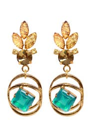 Althea Green Earring by Lulu Frost