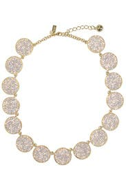 Gold Bright Spot Necklace by kate spade new york accessories