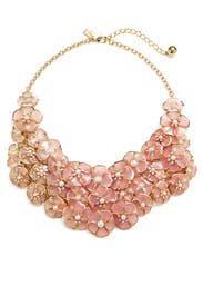 Sunset Blossoms Statement Necklace by kate spade new york accessories