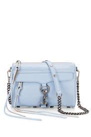 Blue Mini Mac Cross Body Bag by Rebecca Minkoff Accessories