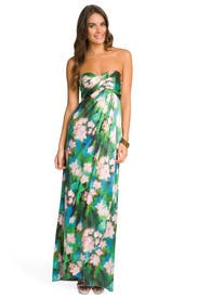 Rainforest Maxi Dress by Nicole Miller