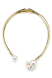 Precious Pearl Collar by Kenneth Jay Lane