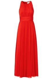 Ruby Red Gala Gown by Badgley Mischka