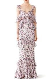 Pink Priscilla Gown by AMUR