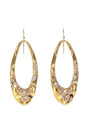 Crystal Orbit Earrings by Alexis Bittar