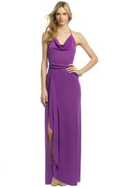 Hedi Draped Gown by BCBGMAXAZRIA