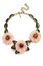 Peony Statement Necklace by Oscar de la Renta