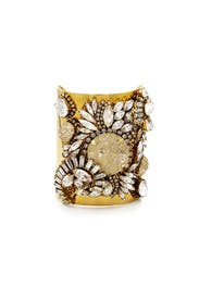 Gold Digger Cuff by Erickson Beamon