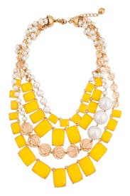 Canary Treasure Chest Necklace by kate spade new york accessories