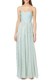 Mint Mosaic Maxi Dress by ERIN erin fetherston