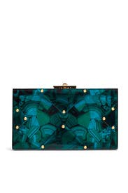 Malachite Alicia Clutch by Rafé