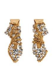 Finley Golden Earrings by Dannijo