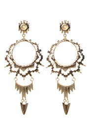 Gold Shiva of India Earrings by Kendra Scott
