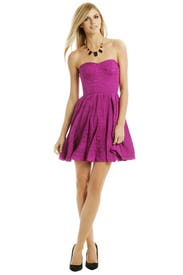 Fuschia Pop Flirt Dress by Rebecca Taylor