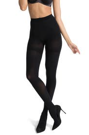 Very Black Luxe Leg Tights by Spanx