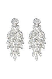 Crystal Peacock Earrings by Ben-Amun