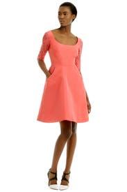 Peach Kiss Dress by Monique Lhuillier