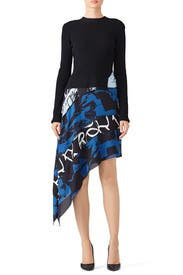 Abstract Printed Cady Dress Fall/winter Proenza Schouler KWkusizX