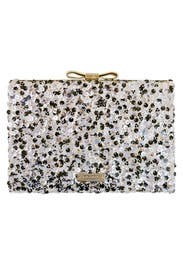 Salt and Pepper Emanuelle Clutch by kate spade new york accessories