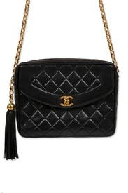 Vintage Chanel Black Tassel Bag by WGACA Vintage