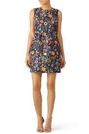 Fancy Flower Printed Dress by RED Valentino