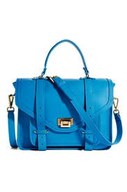 Blue Hayden Satchel by Gigi New York