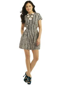 Stamp It Dress by Suno