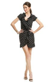 Ruffle Wrap and Dance Dress by Moschino Cheap And Chic