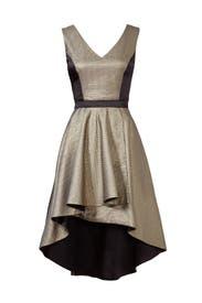 Gold Bar Dress by nha khanh