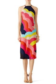 Rainbow Vina Dress by Trina Turk