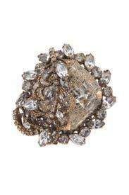 Gold Digger Ring by Erickson Beamon