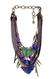 Tangled Up in Purple Necklace by Gemma Redux