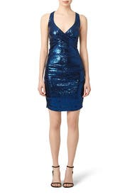 Shooting Star Dress by Nicole Miller