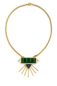 Oceanic Gold Necklace by Gerard Yosca