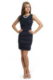 Midnight Tulle Ruffle Dress by Sachin & Babi