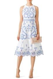 Fl Mariana Dress By Tory Burch