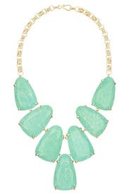 Amazonite Harlow Necklace by Kendra Scott