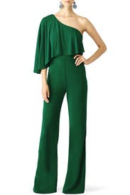 Green Leigha Jumpsuit by Trina Turk
