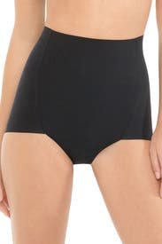 Black High-Waist Control Brief by Commando
