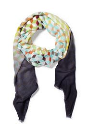 Geo Print Scarf by Echo Accessories