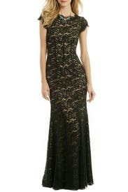 Lace Night Out Gown by ML Monique Lhuillier
