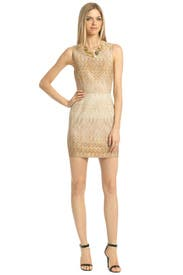 Gold Serenity Dress by Missoni